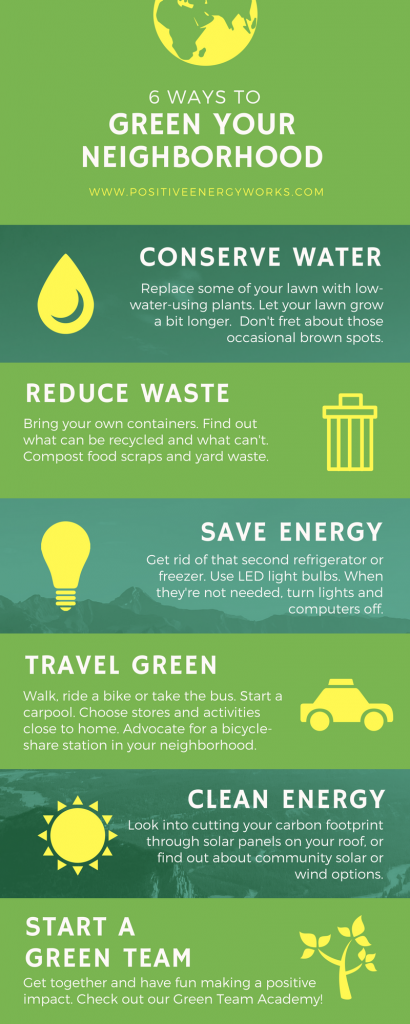 6 Ways to Green Your Neighborhood